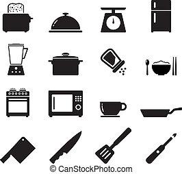 Kitchen Icon set for your design