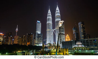Hyperlapse Around KLCC - Timelapse of walking hyperlapse...