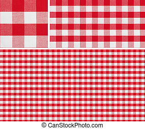 Seamless picnic pattern 1500x1500 with samples. Good for red...