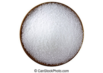 Magnesium sulfate Epsom salts - Closeup photo of fine...