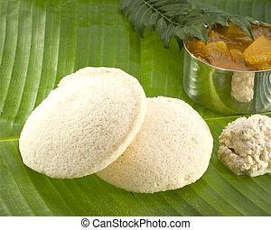 Idli Sambar-South Indian Food - A south Indian snack