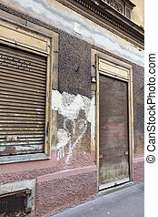 situated permitted business - many years ago, derelict...