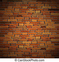 Vector background of old brick wall