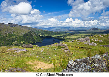 Glanmore Lake from Healy Pass_01 - View from Healy Pass to...