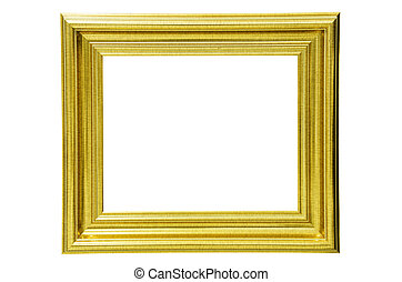 Picture frame. - Picture frame on white background.