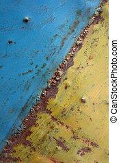 Metal plate steel - Vintage metal plate steel background...