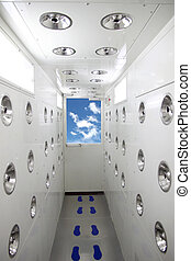 Blowers clean room. - The Picture Blowers clean Room.