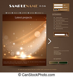 Web Design Frame Vector illustration