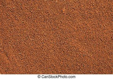 Ground Cinnamon background.