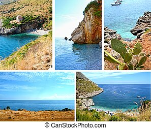 Zingaro Nature Reserve - Beautiful coast of Zingaro Nature...