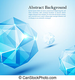 Cristal prism. - Vector illustration for your business...