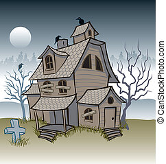 Haunted House - Scary Haunted House