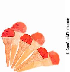 color ice cream