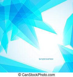 Vector illustration of soft colored abstract background