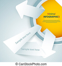 Modern Design template - can be used for infographics,...