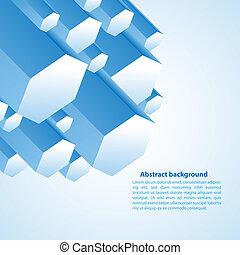 Cristal, empresa / negocio, prisma, Ilustración, vector,...