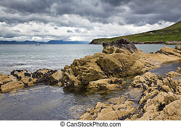 Rocky coast Kells Bay_01 - Rocky coast Kells Bay