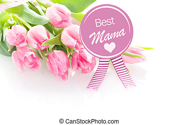 Mothers Day greeting - Best Mama - Heartwarming Mothers Day...