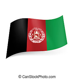 State flag of Afghanistan