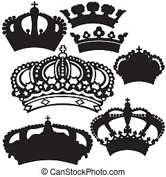Royal Crown Silhouettes