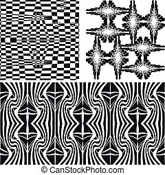 Patterns different vector seamless
