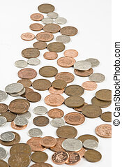 British pound coin - Uk pence coins