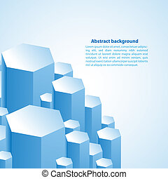 Cristal prism. Vector illustration for your business presentation