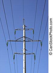 電, 高壓線塔