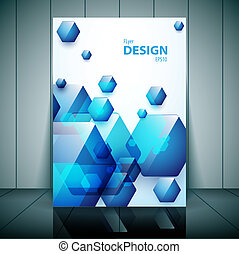 Professional business flyer, brochure or cover design for...