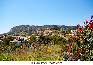 Calpe in Alicante Spain at Valencian Community