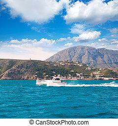 Denia, Alicante, Llaut, barco, Navegación, Las,...