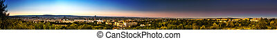 Brno extra large - Extremely large panorama of Brno city in...