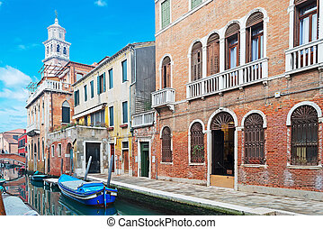 Venice canal detail