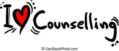 Counselling love - Creative design of counselling love