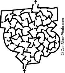 Small maze - Creative design of small maze