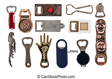 Bottle openers collection