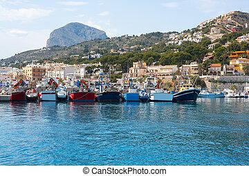 Javea, Xabia, puerto, Puerto deportivo, Mongo,...