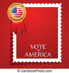 president day - a red card with some white text and a...