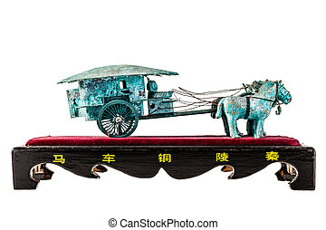xian chariot - an ancient chinese chariot reproduction...