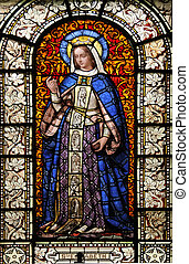 Saint Elizabeth, stained glass