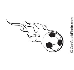 Foot Ball Fire