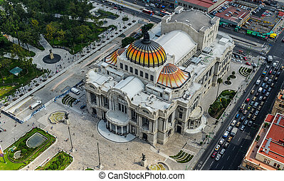Palace Bellas Artes - Palace of FIne Arts - Palacio de...