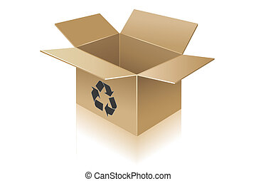 Cardboard box Stock Illustration Images. 29,715 Cardboard box ...