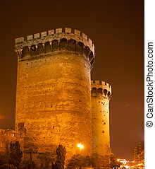 Torres de Quart Quarte in Valencia towers old city fort...