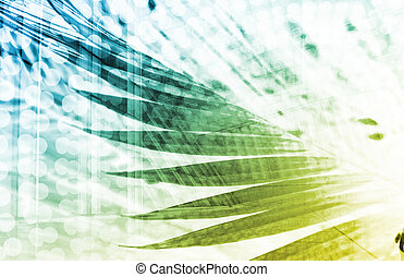 Modern Digital Background as a Creative Art