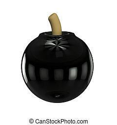 3d render bomb