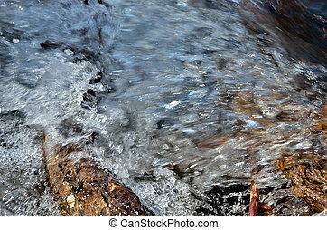 Stream 6 - A close up of the jets of stream in small...