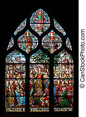 Saint Mary Magdalene, stained glass