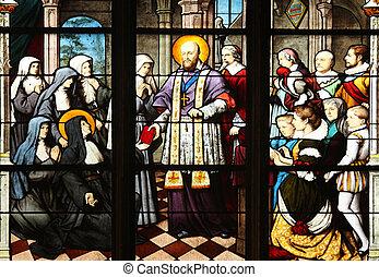 C/, Francis, ventas, entregar, Santo, Jeanne, Chantal,...