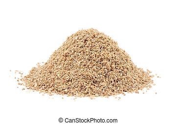 montón, suelo, Culantro, (Coriandrum, sativum),...
